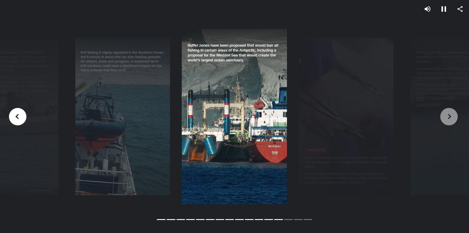 Exemple de Web Story au format AMP